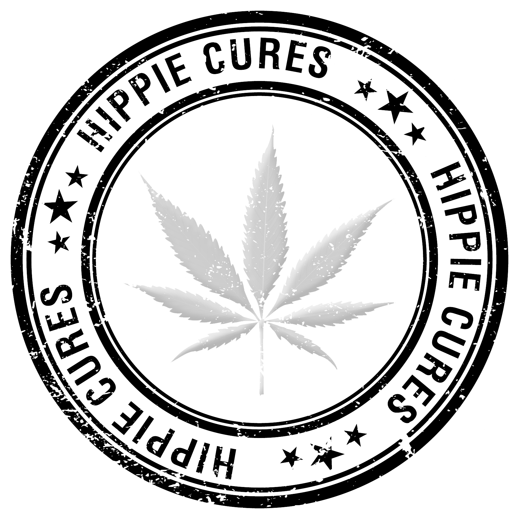 Hippie Cures Logo - All Rights Reserved